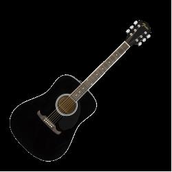 FENDER FA-125 DREADNOUGHT Акустична Китара в черно