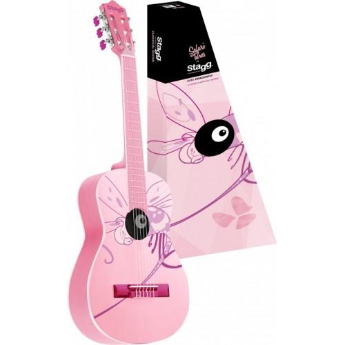 Класическа китара STAGG - Модел C530 DRAGONFLY - 3/4